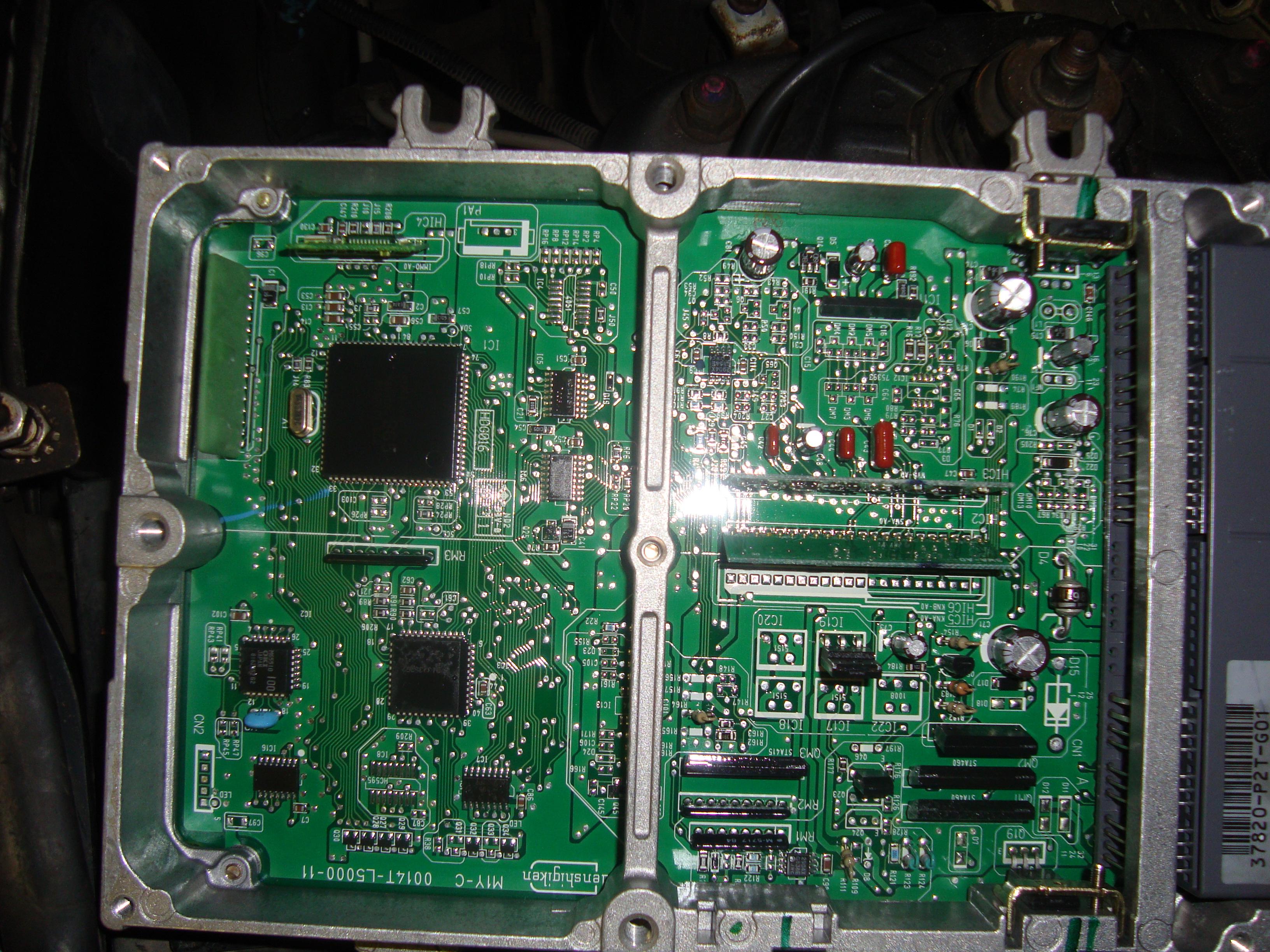 чип тюнинг двигателя honda d15z6